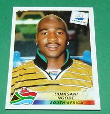 N°186 NGOBE SOUTH AFRICA AFS PANINI FOOTBALL FRANCE 98 1998 COUPE MONDE WM