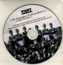 (CQ711) Vinny Peculiar, My Generation - 2011 DJ CD