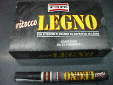 PENNARELLO X RITOCCHI DI COLORE SU SUPERFICI IN LEGNO COLORE MOGANO AREXONS
