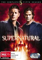 Supernatural : Season 5 (DVD, 6-Disc Set) NEW