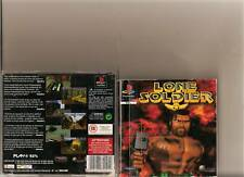 LONE SOLDIER PLAYSTATION 1 PS1 PS 2