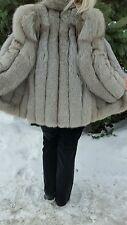 Silver Gray Fox Jacket,Size M