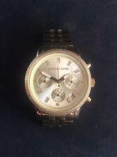 Michael Kors GOLDEN Ritz Donna al Quarzo Cronografo MK5676 10ATM Gold Tone