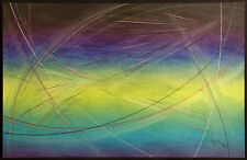 Cerj Lalonde Mixed Media Original Artwork on Paper, Hand Signed Fine Art