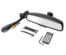 """Crimestopper SV-9157 OEM Replacement Style Rear View Mirror with 4.3"""" LCD Screen"""