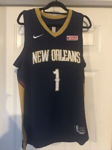 Nike Zion Williamson New Orleans Pelicans Size Medium 48 Mens Swingman Jersey