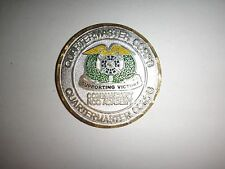 US Army COMMANDANT NCO ACADEMY QUARTERMASTER Corps FT LEE, VA Challenge Coin