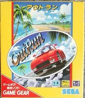 OutRun GameGear GG Sega Used Japan Racing Boxed Tested Working 1991Retro Game