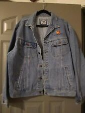 THE HISTORY CHANNEL Jean Jacket Coat Size XL - NEW