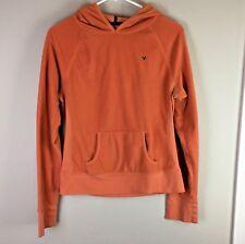 American Eagle Outfitters Women's Hoodie Size Large Orange Sweatshirt