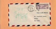 US # C16 FIRST FLIGHT BANCOR MAINE AUG 3,1931