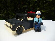 ☺ Jouet Voiture De Police Fisher Price Vintage Année 1981 Réf: 332