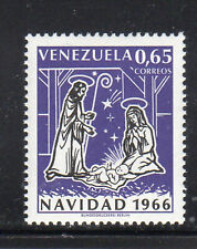 VENEZUELA #911  1966   CHRISTMAS  MINT VF NH O.G   a