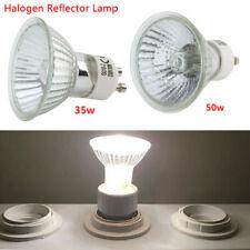 1/5/10PCS x 50W/35W Halogen Spot Light GU10 Bulbs 220-240V 2700k Warm White UK