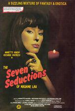 THE SEVEN SEDUCTIONS OF MADAME LAU Movie POSTER 27x40 Annette Haven Richard
