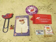 Red Hat Society Pins and Collectibles Lot