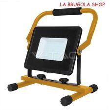 LAMPADA LED PORTATILE  FARETTO FARO  V-TAC VT-4250 (5930) 50W  NO RICARICABILE