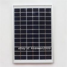 18V 278MA 5W solar panel solar power panels 5watt charge 12v dc battery led