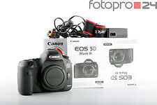 Canon EOS 5D Mark III Body + 76 Tsd Ausl. + Sehr Gut (957523)