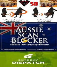 4 x AUSSIE SCAN BLOCKER ~ Protect Yourself against Credit Card Skimming NFC RFID