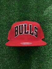 Chicago Bulls Mitchell & Ness Snapback Hat
