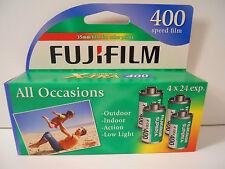 4 Rolls Fuji  Superia X-tra ISO 400 Color Print Film 35mm Film  24 Exp  2018