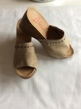 ae48fdca846 Blowfish DT Sand Rancher Canvas Women s Wedge Sandal Size 7.5