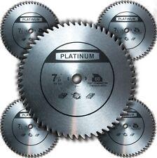 "SSC; 5PC 7-1/4"" inch 60 Steel Tooth Circular Saw Blade for Bosch Dewalt Platinum"