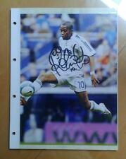 Autografo signed autograph futbol match worn Robinho Brasil Milan Real Madrid