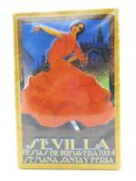 Blechschild Sevilla Spanien Metall Schild 30cm,Nostalgie Metal Shield