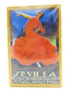 Tin Sign Seville Spain Metal Sign 30cm, Nostalgia Metal Shield