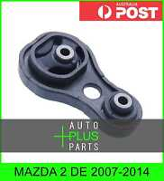 Fits MAZDA 2 DE 2007-2014 - Rear Engine Mount Manual Rubber