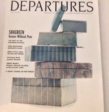 Departures Magazine Shagreen Veneer Without Peer March/April 1996 072717nonrh2