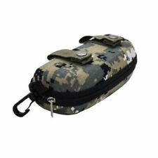 Camouflage Eyeglasses Case Cover Sunglasses Storage Container With Belt Clip Bag