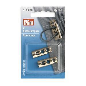 Kordelstopper 2 - Loch new gold Prym 416665