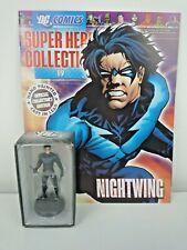 DC COMICS SUPERHERO COLLECTION #19 NIGHTWING FIGURE & MAGAZINE EAGLEMOSS