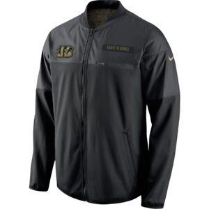Nike Cincinnati Bengals 2016 NFL Salute to Service Men's Hybrid Jacket XL