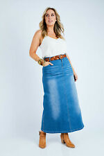 NEW boho bird Womens Long Skirts Dusty Footprints Skirt - Skirts