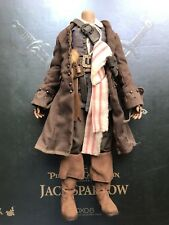hot toys DX06 Pirates of the Caribbean Captain Jack Sparrow 1/6 Figure Only