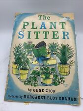 New listing Plant Sitter By Gene Zion 1969 Scholastic Version Paper Back