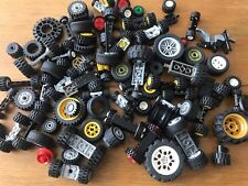 LEGO Mixed Assorted Wheels Spare Parts Bundle 0.5kg 500g (lot 2)