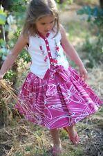 Jottum Euro boutique girl pink Topsy skirt Kedinne vest top shirt 134/140 8 9 10