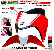 adesivo fascia per parafango ducati monster 821 1200 design monster 1200R (V344)