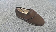 Mens Cosyfeet Richard Brown Adjustable Extra Wide Fit Size 9 Right Foot ONLY