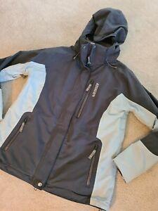 Womans Ladies Tog24 Blue Size 12 / 14 Coat Jacket Hooded Milatex 5000 Outdoor