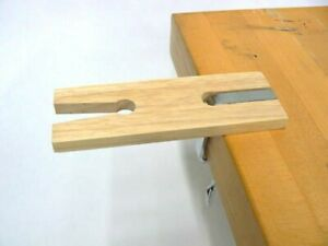 Jewelers Bench Pin Clamp V-Slot with C- Clamp Mount on Table Workbench