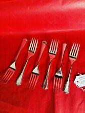 Art Deco Antique Silver Plate Forks