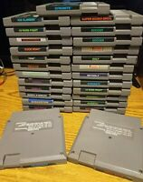 *UPDATED 04/13* NINTENDO NES GAMES 5 SCREW ONLY LOT YOU PICK BLACK LABEL GAMES