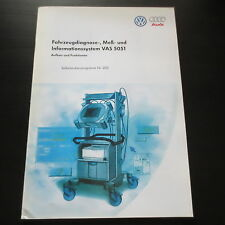 VW Audi ssp no 202 VAS 5051 vehicle diagnostic measurement information System Stand'97
