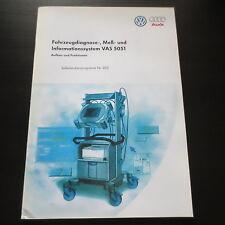 VW Audi SSP Nr. 202 VAS 5051 Fahrzeug-Diagnose Meß- Informationssystem Stand '97